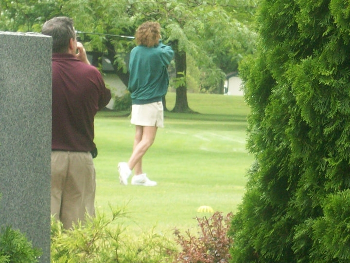 1-laurie on course- Bonnie Blackmore collection