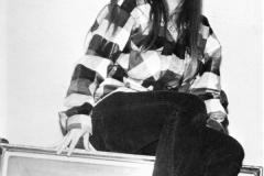 1980 Yearbook pg005 Doreen Lette on Coke machine