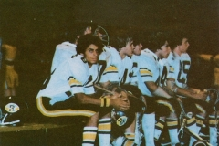 1980 Yearbook pg011 football bench with Jordan Smith