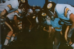 1980 Yearbook pg011 football line of scrimmage