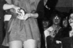 1980 Yearbook pg185 Laurie Sanders as an elf