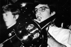 1980 Yearbook pg229 ads Kurt Kuppler on trombone